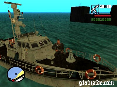 Russian Boat from MW3