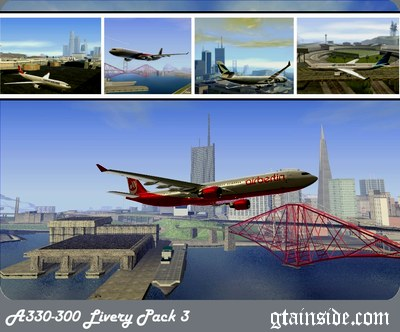 Airbus A330-300 Livery Pack 3