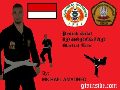 Pencak Silat fighter skin