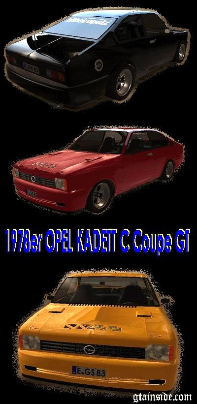 1978 Opel Kadett C Coupe GT  -  BETA