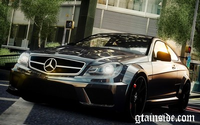 2012 Mercedes-Benz C63 AMG Black Series v1.0