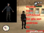 Hunter Uninfected from Left4dead