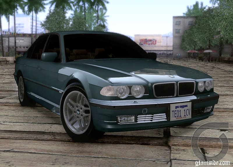 2001 BMW 750i E38 M Packet