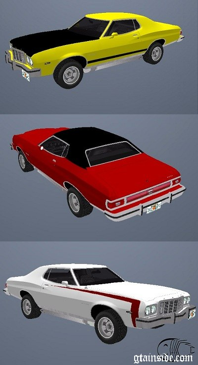 Paintjobs for Ford Gran Torino 1974