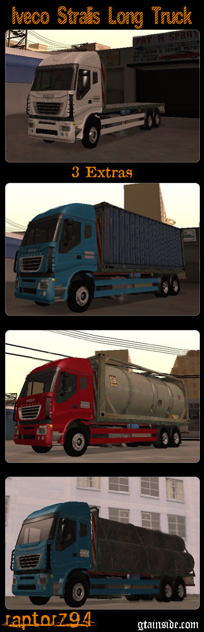 Iveco Stralis Long Truck