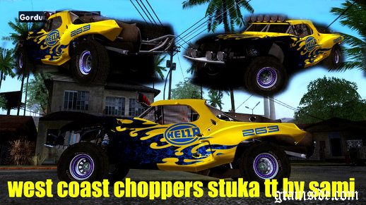 West Coast Choppers Stuka TT trophy