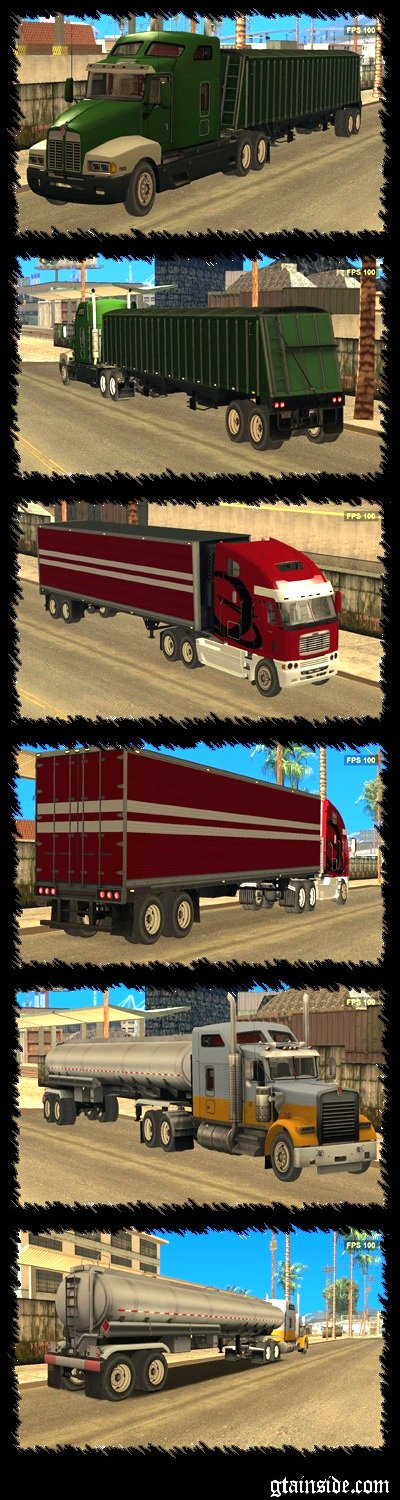 SamY - Truck and Trailer Pack