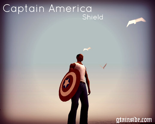 Captain America HD Shield