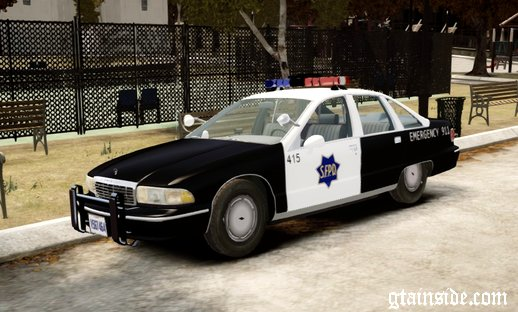 1991 Chevrolet Caprice San Francisco/Fierro Police Department