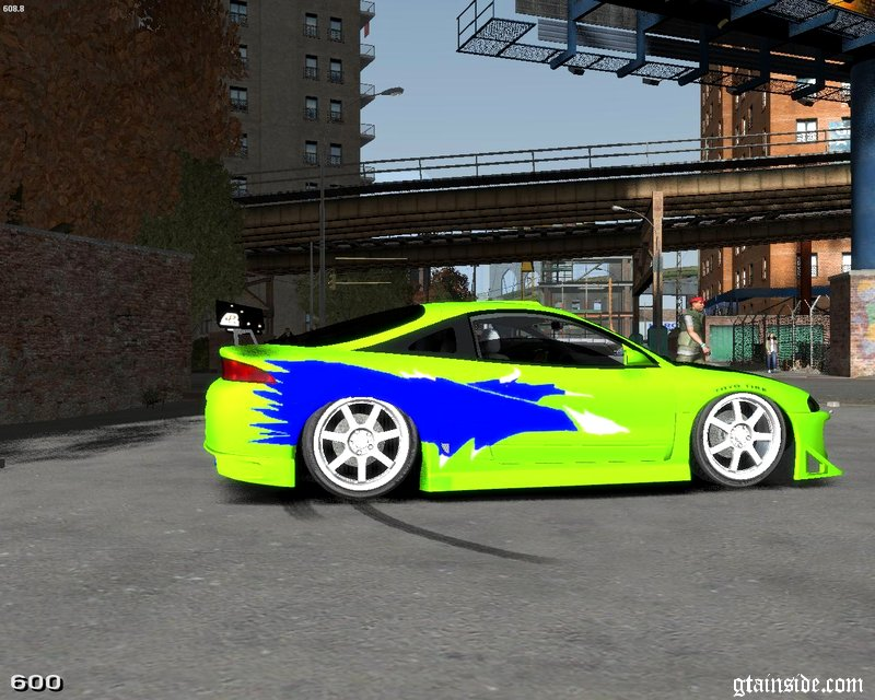 gta 4 1996 mitsubishi eclipse gsx the fast and the. Black Bedroom Furniture Sets. Home Design Ideas