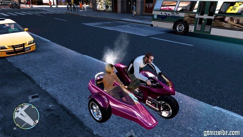 gta 4 sidecar double t mod. Black Bedroom Furniture Sets. Home Design Ideas