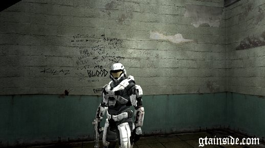 Halo Reach Spartan White