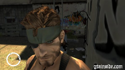 Metal Gear Solid 3 Big Boss Snake