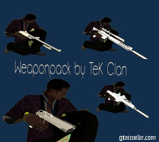 TeK Weapon Pack & Sounds