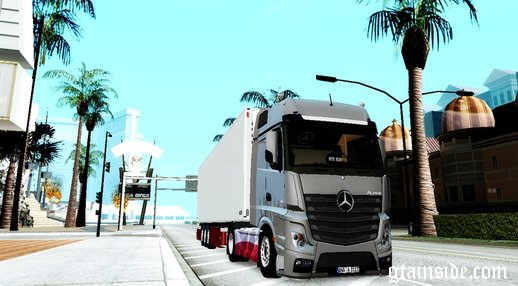 Mercedes Benz Actros MP4