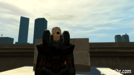 Metal Gear Solid 2 Solidus Snake