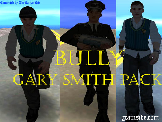 GTA San Andreas Bully Scholarship Edition: Gary Smith Pack ...