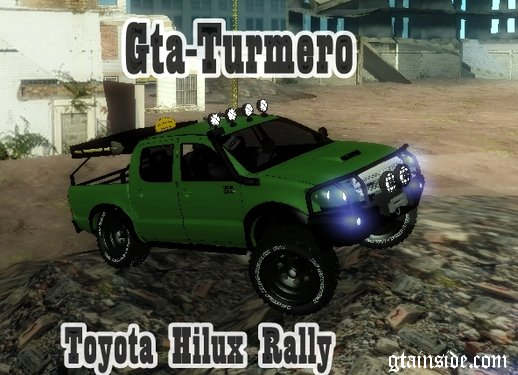 Toyota Hilux Rally Version
