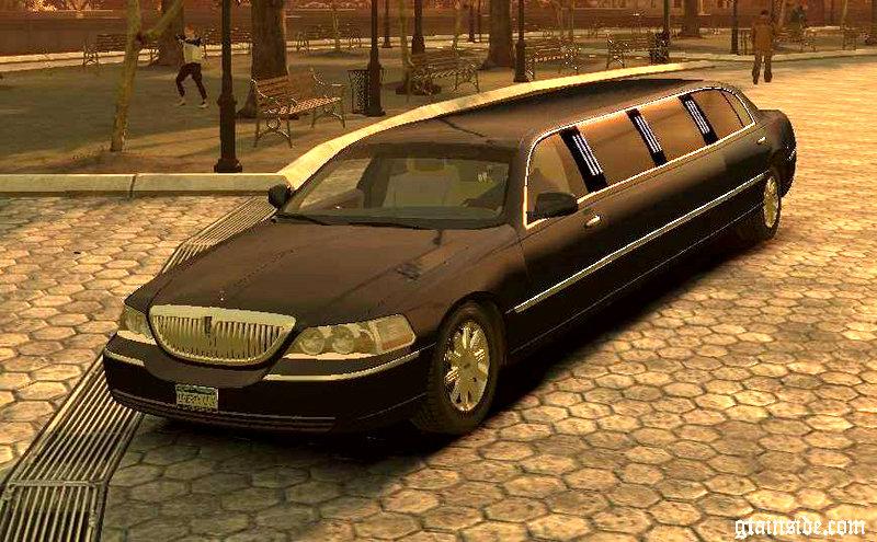 Gta 4 2006 Lincoln Town Car Limousine Mod Gtainside Com
