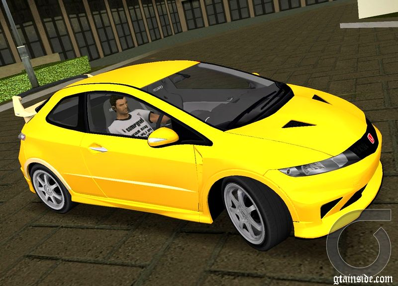 gta 3 honda civic type r mugen 2010 v1 0 mod. Black Bedroom Furniture Sets. Home Design Ideas