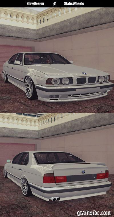 GTA San Andreas BMW M E Mod GTAinsidecom - 1990 bmw m5