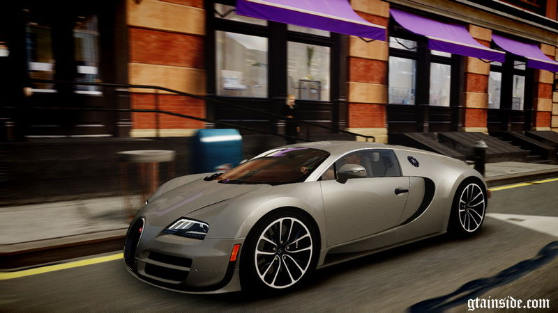 gta 4 2011 bugatti veyron 16 4 super sport mod. Black Bedroom Furniture Sets. Home Design Ideas