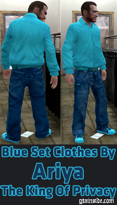 Blue Set Clothes