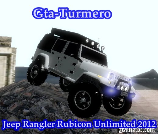 Jeep Rangler Rubicon Unlimited 2012 4x4