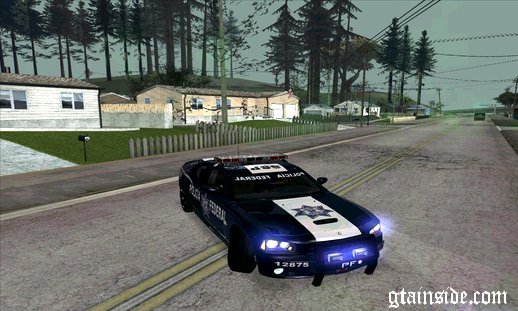Dodge Charger SRT 8 2006 Policia Federal Mexicana