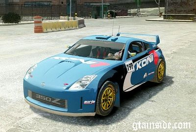 Nissan 350Z Rally Car DiRT2