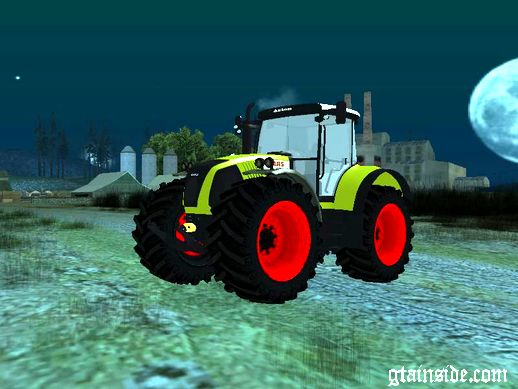 CLAAS Axion 850 (Tractor)