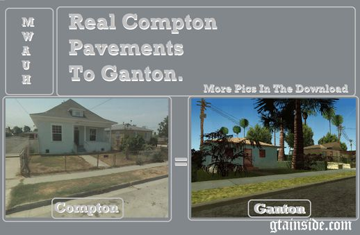 Real Compton Pavements To Ganton