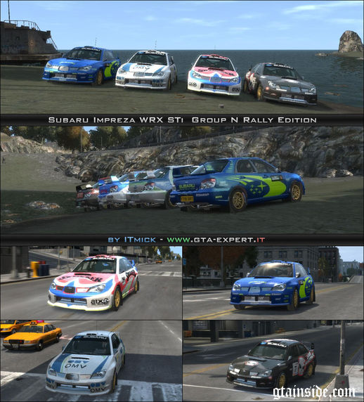Subaru Impreza WRX STi Group N Rally Edition
