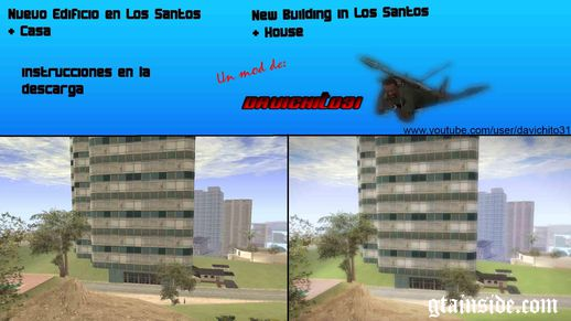 New Bulding Near Madd Dog`s House