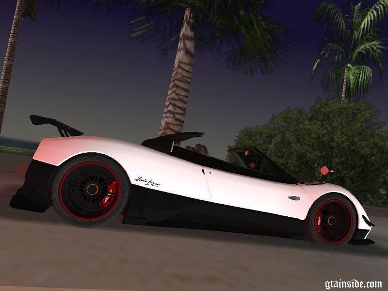 Gta 3 2010 Pagani Zonda Cinque Roadster Mod Gtainside