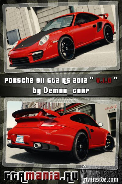 gta 4 porsche 911 gt2 rs 2012 v1 0 mod. Black Bedroom Furniture Sets. Home Design Ideas