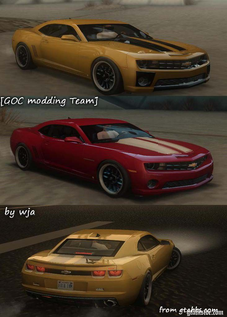 gta san andreas 2010 chevrolet camaro ss v2 0 mod. Black Bedroom Furniture Sets. Home Design Ideas
