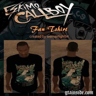 Eskimo Callboy Fan Tshirt