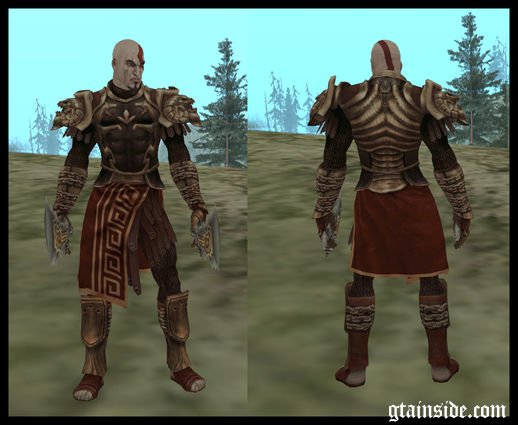 Kratos God Armor