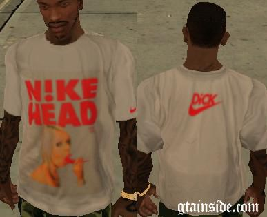 N1KE Head T-Shirt