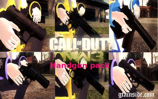 MW 3 Handgun pack
