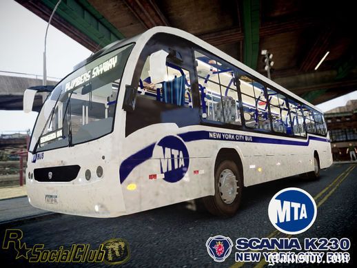 Scania K230 MTA New York City Bus