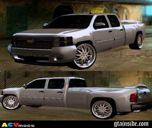 Chevrolet Silverado Long And Low