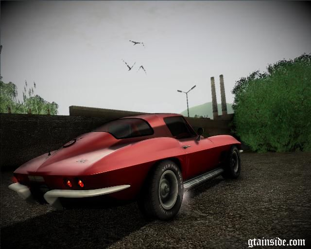 Gta San Andreas Chevrolet Corvette C2 Stingray Mod Gtainside