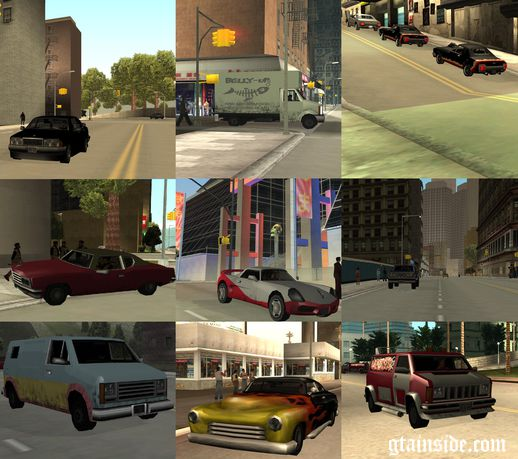 GTA United Car, Weapon & Bonus Pac