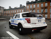 2013 Ford Explorer NYPD ESU