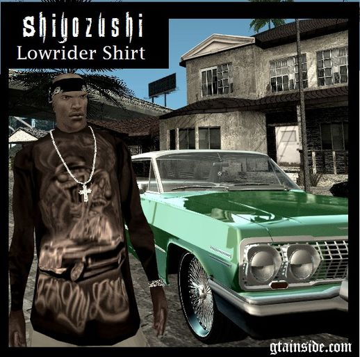 Lowrider Brown Shirt