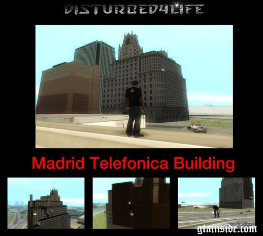 Madrid Telefonica Building