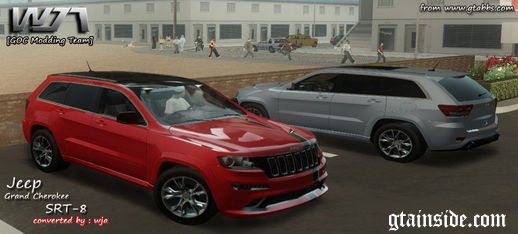 2012 Jeep Grand Cherokee SRT-8