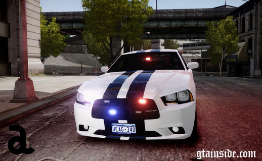 2012 Dodge Charger - Unmarked Police (ELS)